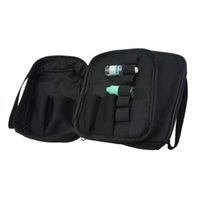 ecig carregam sacos venda por atacado-Vapor Bolso Double Deck Vape Carry Bag Vaping Caso Ecig Bolsa de Transporte com Alça de Ombro Para RDA RBA Mech / Box Mod ecigs