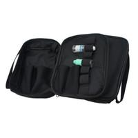 Wholesale Double Shoulder Strap - Vapor Pocket Double Deck Vape Carry Bag Vaping Case Ecig Carrying Bag with Shoulder Strap For RDA RTA RBA Mech Box Mod ecigs