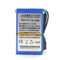 Wholesale Dc 12v Power Battery - Capacity DC 12V 4000mAH Rechargeable Lithium Li-ion Battery Backup Power Bank For CCTV Camera MID GPS Tablet