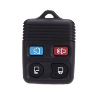 Wholesale Mercury Key Fob - 4 Button Remote Key Fob Case Shell Pad Replacement for Ford Lincoln Mercury VE329 W0.5