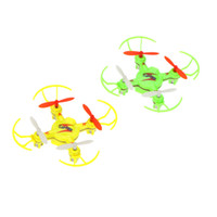 WLtoys V646 2.4G 4CH 6 axes Gyro Nano taille Mini RC Quadcopter UFO avec Hélice mode Headless Protector commander 18Personne $ piste