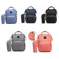 Wholesale Waterproof Mommy Bag - Mommy Backpacks Nappies Diaper Bags Large Capacity Waterproof Maternity Backpack Mother Handbags Outdoor Nursing Travel Bags 10pcs OOA3370