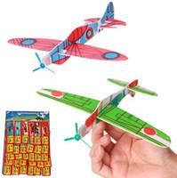 uçan kayıklar oyuncakları toptan satış-Uçan Planör Uçaklar Çocuk Çocuklar Noel Oyuncak Parti Çanta Oyuncak Dolgu Hediyeler