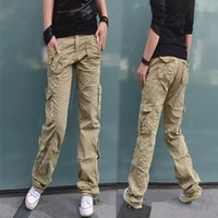 Wholesale Girl Cargo Pants Baggy - Women Clothing Fashion Women's Camouflage Army Fatigue Cargo Pants Girls Harem Hip Hop Dance Sweat Pants Baggy Trousers 9885