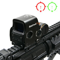 Wholesale Tactical Red Green Reflex Sight - 558 Holographic Red Green Dot Sight Tactical Rifle Scope Optic Sight Reflex Sight With 20mm Scope Mounts