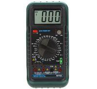medidor de temperatura de mano al por mayor-Freeshipping Handheld Multímetro digital DMM con medidores de capacitancia de temperatura hFE Tester