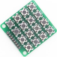 Gros-Smart Electronics 8pin 4x4 4 * 4 Matrice 16 touches Bouton Clavier Clavier Breadboard Module Mcu pour Kit Arduino Diy Starter