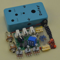 Wholesale Electric Guitar Lights - DIY Delay Guitar Effect Pedal Delay Guitar Effects Suite Light Blue pedal !!!