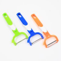 Wholesale Cheap Vegetable Peeler - Wholesale Cheap ECO Fruit &Vegetable Tool Multifunctional Apple Peeler Stainless Steel Kitchen Gadget Cutting Peeler Cooking Tools