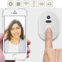 Wholesale Door Phone Doorbell Wireless - Wireless WIFI Doorbell Video Door Phone Auto Photo Cloud Storage Outdoor Doorbell US Plug Indoor Doorbell Never Offline