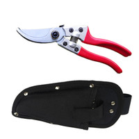 Wholesale 8 inch Garden Hand Tool Tree Clippers Flower Trimmer Bypass Pruner Pruning Shears with Sheath