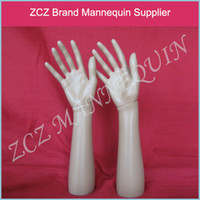 Wholesale Hand Jewelry Ring Display - Mannequin Hand Gloves Display Jewelry Ring Bracelet Necklace hand jewelry Holder Stand BM030