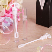 Wholesale Bubbles Birthday Party - 24Pcs Lot Empty Bubble Soap Bottles Funny Home Wedding Birthday Party Decoration Event Festival Supplies
