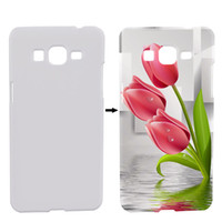 Wholesale Sublimation Galaxy Grand - Sublimation Cover 3D Heat Transfer For Samsung Galaxy Grand Prime G530 G5306 Blank Sublimation Case Printing Phone Cover