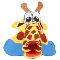 Wholesale Masquerade Hats - Cartoon Animal Color Kids Topee Children's Day EVA Party Hats Headwear Masquerade Festive Cosplay Performance Props 50pcs lot SD411