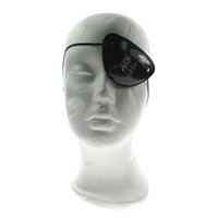 3 Pz Hallowmas Bambini Bambino Single Eye Cover Pirate Mask Halloween Costume Party Prop