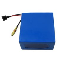 Wholesale 24v lithium battery charger resale online - W V AH battery V S electric bike battery AH with A Charger and customs fee