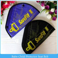 Wholesale Safe Suits - Safety Belt Safe Fit Car Baby Child Protector Seat Belt Positioner Baby Car Safety Seat Suit 2-14 years Child Baby H2924