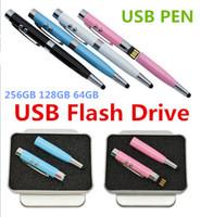 Wholesale Dhl Free Memory Stick - Pen drive usb 2.0 flash memory stick pendrive 64gb 128gb 256gb usb flash drive u disk free dhl