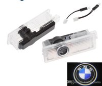 Wholesale bmw e65 lights resale online - LED Door Warning Light With Logo Projector For BMW E60 E90 F10 F30 F15 E63 E64 E65 E86 E89 E85 E91 E92 E93 F02 M5 E61 F01 M M3