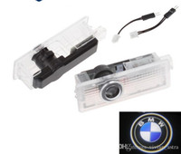 luces bmw e65 al por mayor-Luz de advertencia de puerta LED con proyector de logotipo para BMW E60 E90 F10 F30 F15 E63 E64 E65 E86 E89 E85 E91 E92 E93 F02 M5 E61 F01 M M3