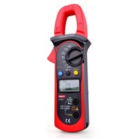 Wholesale Digital Clamp Meter Multimeters - UNI-T UT203 LCD AC DC Digital Clamp Meter Multimeters DMM Volt Amp Meter 400A Ohm Hz Tester