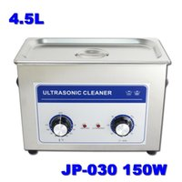 Wholesale Metal Stamping Part - Supply 4.5L 150W Digital Medical Equipment Metal Stamping Parts Ultrasonic Cleaner JP-030 with 1 Free Basket 110v 220v Available