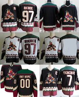 97 Jeremy Roenick Arizona Coyotes Hockey Jerseys  7 Keith Tkachuk  Blank  Stitched Mens Hockey Jersey All Stitched Free Shipping e1cb940f5