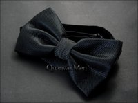 pajarita de mariposa negra al por mayor-Nuevo color sólido negro pajarita comercial formal pajaritas de matrimonio de color sólido para los hombres mariposa de color caramelo mariposas bowtie