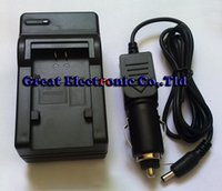 Wholesale Jvc Camera Charger - Sample camera wall travel charger for JVC BN-VG107U,BN-VG114U,BN-VG121U VG121U battery charger+car charger adapter Everio GZ-HM300BU HM320BU