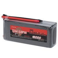 Wholesale Scorpion Helicopter - Wild Scorpion 16000mAh 15C LiPo Battery 14.8V 4S for RC Car Airplane Helicopter Boat