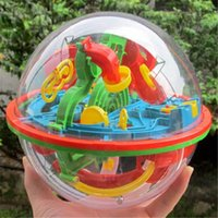 Wholesale-Hot 3D Space Traveller Intellekt Ball Balance Labyrinth Spiel Puzzle Bildung Spielzeug für Children13 * 11.5CM