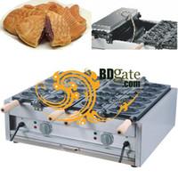 Wholesale Electric Fishing Machine - Free Shipping 110v 220v Electric Japanese Fish Taiyaki Baker Cooker Maker Iron Machine