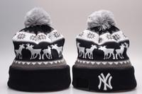 Wholesale Cheap Men Winter Hats - free shipping high quality Cheap Yankees Skull Caps NY Beanies Fashion Baseball Beanie