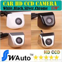 câblage de caméra de vue arrière achat en gros de-Caméra arrière 2.4G RCA ou connecteur AVIN Caméra de stationnement pour voiture Caméra de recul HD grand angle à 170 degrés