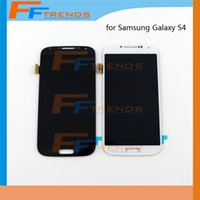 Wholesale Galaxy S4 Glass Lcd - High Quality 20pcs lot For Samsung LCD Screen + Digitizer Touch Glass Assembly Samsung Galaxy S4 i9500 i9505 M919 L720 i545 R970 i337