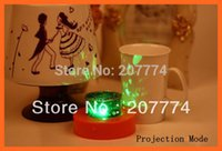 Wholesale Candel Led Lamp - Wholesale-2015 Projector LED Night Light Gifts LED Candel cake Star Projector Lamp Night Light Lover Star Master Nightlight Free Shipping