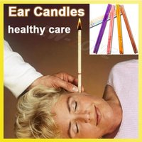 Wholesale Herbal Care - Healthy Care Ear Candle Therapy nursing Beewax Ear Candles Frangrance aromatic braising ear Herbal Treament 200PCS Wholesale