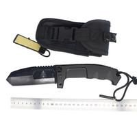 cuchillo táctico extrema relación al por mayor-Clásico OEM Extrema Ratio RAO185 lámina 440C cuchillo plegable 57 HRC de dureza cuchillo de combate acampar herramientas tácticas 244L