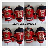 Wholesale Hockey Sawyer - Factory Outlet, Wholesale NHL Florida Panthers jerseys #68 Jaromir Jagr Red jerseys Hoodie Sawyer Hooded Sweatshirt Stitched Jersey Size M-X