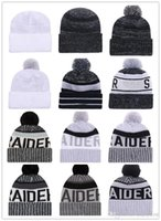Wholesale Pink Offers - OKA Football Team Beanies American Football HOT team Beanies Sports Beanie Knitted Hats Free drop shipping Accept Mix Order album offered