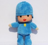 Wholesale Large Pato Toy - BANDAI Plush 25cm Pocoyo Plush Doll Large Doll Lovely Pato Elly Cartoon Figure Toys
