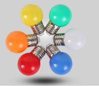 Wholesale 3W E27 B22 LED ball Bulb Effect DJ globe Lamp Light bubble Bulb Stage Lighting