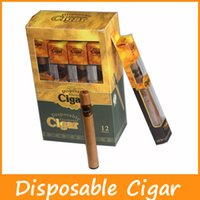 Wholesale Disposable E Cigars - New Disposable Cigar 1800 Puffs Electronic Cigarette Kit E Cigars E Cig Vapor Powerful Vaporizer Better Than E Shisha E Hookah Disposable