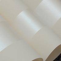 tapetenrollenstreifen großhandel-Vliestapetenrolle klassische metallische Glitter Streifen Tapete Hintergrund Wandtapete 3D weiß Wohnkultur W075