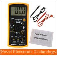 mètres ac achat en gros de-Livraison gratuite DT9025A AC / DC Professional Handheld Tester Meter Multimètre numérique