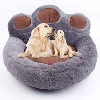 ingrosso coperta di stuoia per animali-Letti per cani creativi Morbidi cani da compagnia Coperta invernale per cani Cuccia per animali domestici Tappeti per dormire caldi Prodotti per animali Caffè rosa Grigio Beige