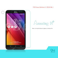 Wholesale Tempered Glass For Zenfone - Lowest Price Tempered Glass Explosion Proof Screen Protector 0.2MM 9H 2.5D For Asus Zenfone 2