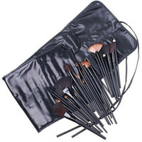 Wholesale makeup tool roll for sale - DHL Free Ship Professional Makeup Brushes set Cosmetic Brush Set Kit Tool Roll Up Case