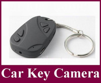 Wholesale Mini Car Keys Micro Camera - Factory sale low price Mini DVR 808 Car Key Micro-Camera Wireless Video Camera Camcorder Recorder mini hidden camera 500pcs lot